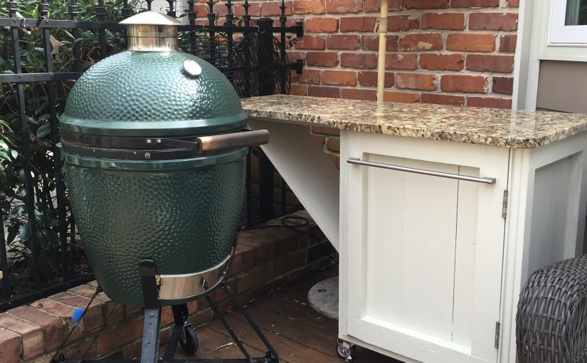 Big Green Egg (R) Table – Upconfigured style