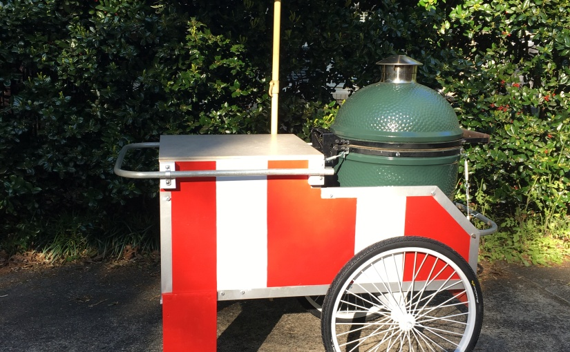 Big Green Egg (R) Backyard Trailer